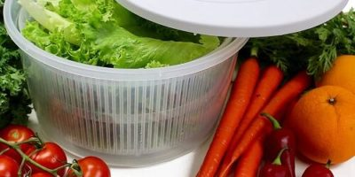 K Basix Large Salad Spinner 4.5 L