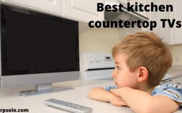kitchen countertop TVs
