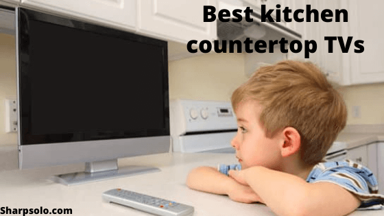 kitchen countertop TVs