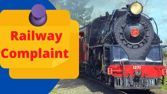railway complaint WhatsApp number