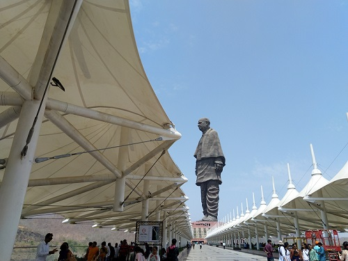 statue of unity images